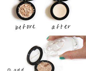 diy, makeup, and tips image
