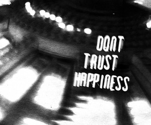 happy, lies, and trust image