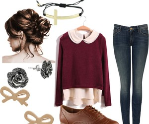 outfit, fall, and girl image