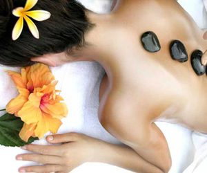 flower, relax, and spa image