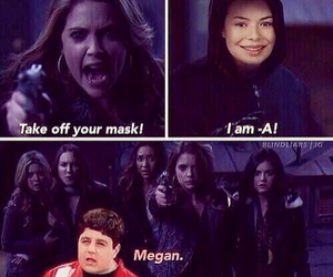pll, pretty little liars, and megan image