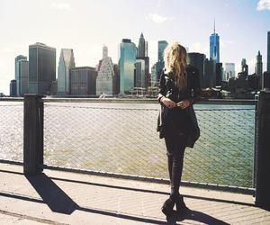 fashion, new york, and photography image