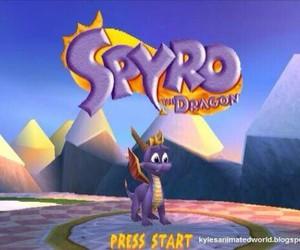 spyro, dragon, and game image