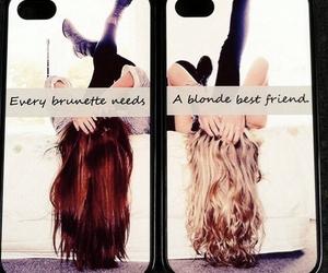 Best, blonde, and brunette image