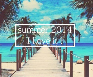 beach, happy, and summer 2014 image