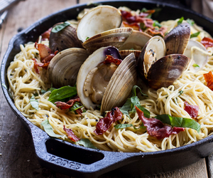 clam, food, and seafood image