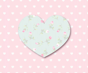 floral and heart image