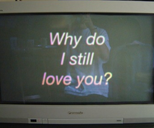 love, why, and grunge image