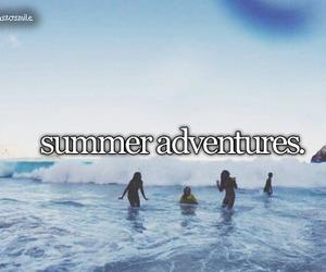 summer, adventure, and beach image