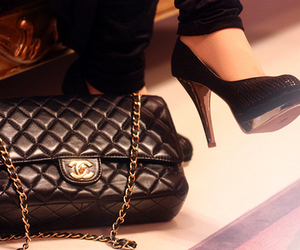 bags, fashion, and legs image