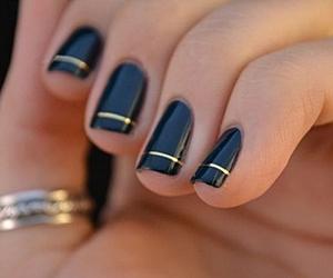 amazing, black, and nail polish image