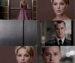 grey's anatomy, george, and izzie image