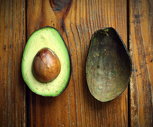 avocado, eat, and green image