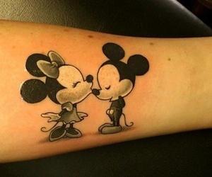 tattoo, minnie, and disney image