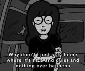 Daria, quotes, and grunge image