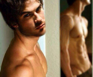 ian somerhalder, sexy, and topless image