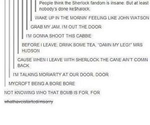 funny, john, and sherlock image