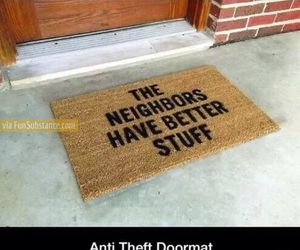 awesome, doormat, and funny image