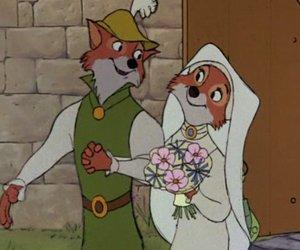 disney, robin hood, and fox image