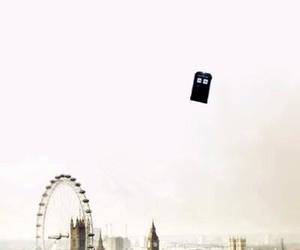 doctor who, tardis, and london image