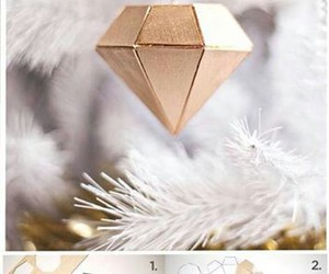 christmas, diamond, and gold image