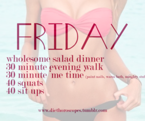 workout, fitness, and friday image