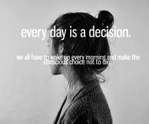 decision, text, and choice image