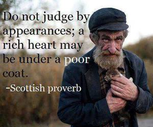 judge, heart, and poor image