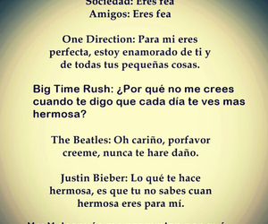 frases, the beatles, and justin bieber image