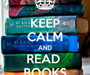 and, calm, and books image