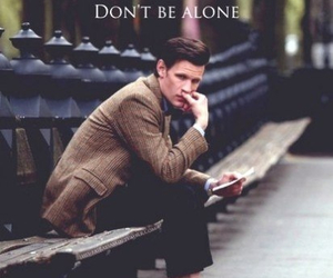 doctor who, matt smith, and alone image