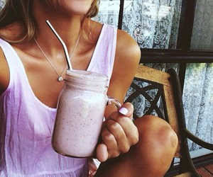 fitness, food, and pink image