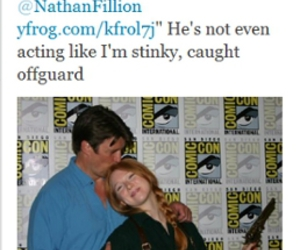 adorable, castle, and nathan fillion image