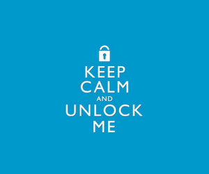 and unlock image