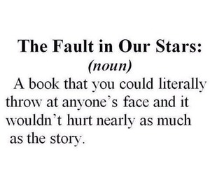 the fault in our stars, book, and tfios image
