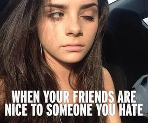 friends and hate image