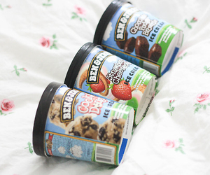 ice cream, food, and ben&jerry's image