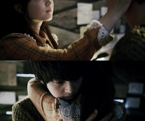 couple, korean movie, and song joong ki image