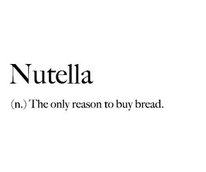 definition and nutella image