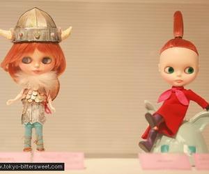 blythe, doll, and moomin image