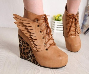 shoes, wings, and heels image