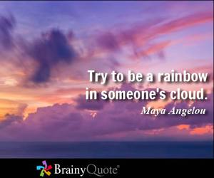 cloud, sky, and inspirational quote image