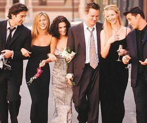 friends, monica, and chandler image