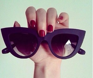 cateye, lady, and summerstyle image
