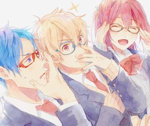 free!, rei ryugazaki, and free anime image