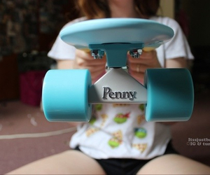 penny board, penny, and quality image
