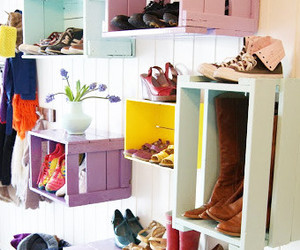 decor, shoes, and design image