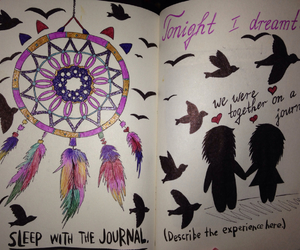 Dream, journey, and wreck this journal image