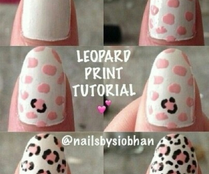 diy, leopard, and nails image