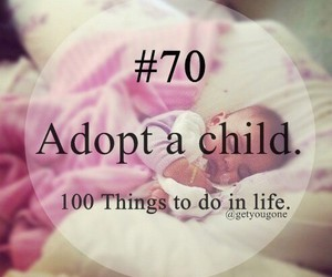 child, 70, and 100 things to do in life image